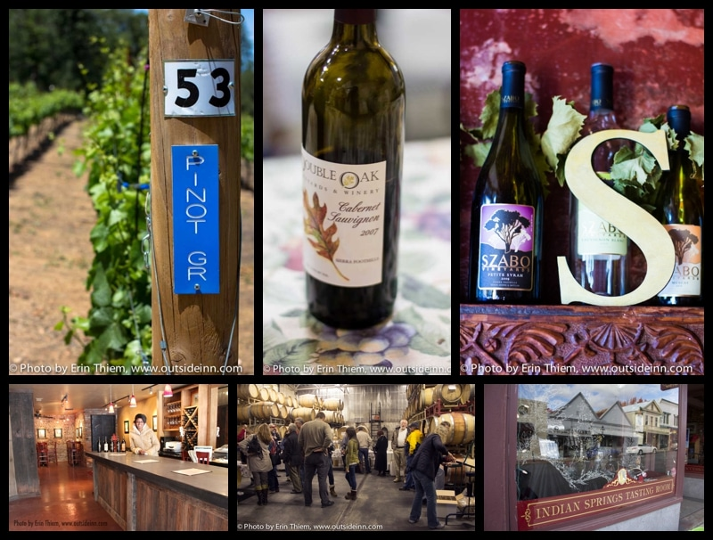 Nevada City Wine Tasting
